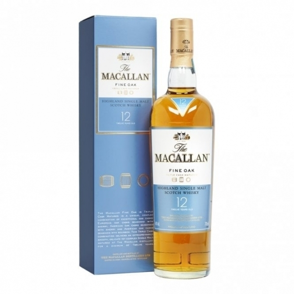 The Macallan 12 Fine Oak 70 cl.
