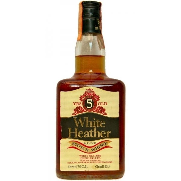 Whisky White Heather 5 y. 70 cl.
